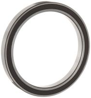 WJB 6807-2RS Deep Groove Ball Bearing, Double Sealed, Metric, 35mm ID, 47mm OD, 7mm Width, 1100lbf Dynamic Load Capacity, 905lbf Static Load Capacity