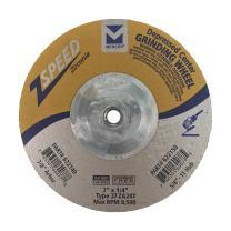 """Mercer Industries 622150 Zspeed Zirconia Grinding Wheel, 7"""" x 1/4"""" x 5/8""""-11 (10 Pack)"""