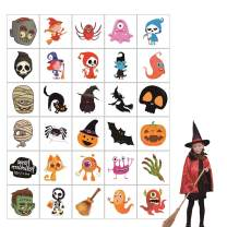 150 Pack Halloween Temporary Tattoo, Happy Halloween Decorations Stick Tattoos for Kids Goodie Bags for Boys & Girls-30 Designs
