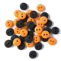 Buttons Galore Halloween Durable Plastic Stylish Button, Multi-Colour