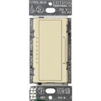 Lutron MA-600G-AL Maestro 600-watt Multi-location/Single Pole Eco-Dim Digital Fade Dimmer, Almond