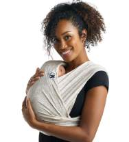 Baby K'tan Print Baby Wrap Carrier, Infant and Child Sling - Simple Wrap Holder for Babywearing - No Rings or Buckles - Carry Newborn up to 35 lbs, Savvy Snake, S (W Dress 6-8 / M Jacket 37-38)