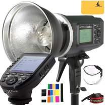 Godox AD600BM 600Ws GN87 HSS AD Sync 1/8000s 2.4G Wireless Flash Light Speedlite,Godox XPro-S 2.4G TTL Wireless Flash Trigger Compatible for Sony Camera