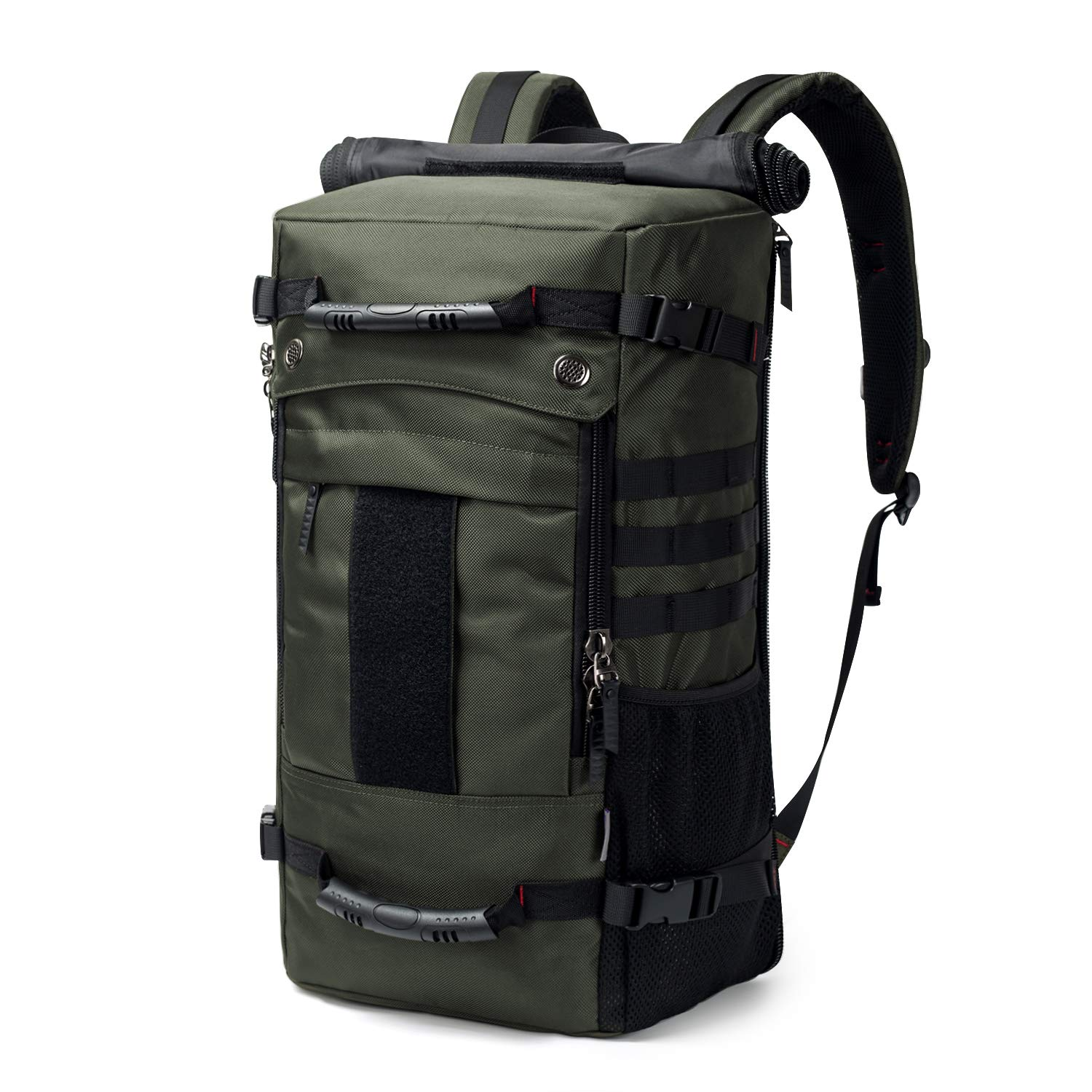 Mardingtop 40L Duffle Backpack Molle Travel Sports Gym Carry-On Bag for Men Women