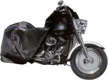 Raider 02-7714 SX-Series Black Large Weather and UV-Resistant Motorcycle Storage Cover