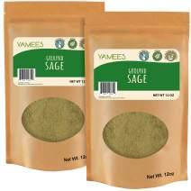 Sage Powder - 24 oz (12 Oz Each) - Sage Spice - Rubbed Sage - Ground Sage - Sage Seasoning - Bulk Spices