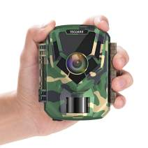 """TOGUARD Mini Trail Camera 1080P HD Game Camera 2"""" LCD Screen Small Hunting Trap Camera 12MP with IR Night Vision 120° Wide Angle Waterproof Video Camera for Wildlife Monitoring and Home Observation"""