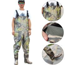 Sougayilang Fly Fishing Waders for Men and Women with Boots, Men/Women High Chest Wader