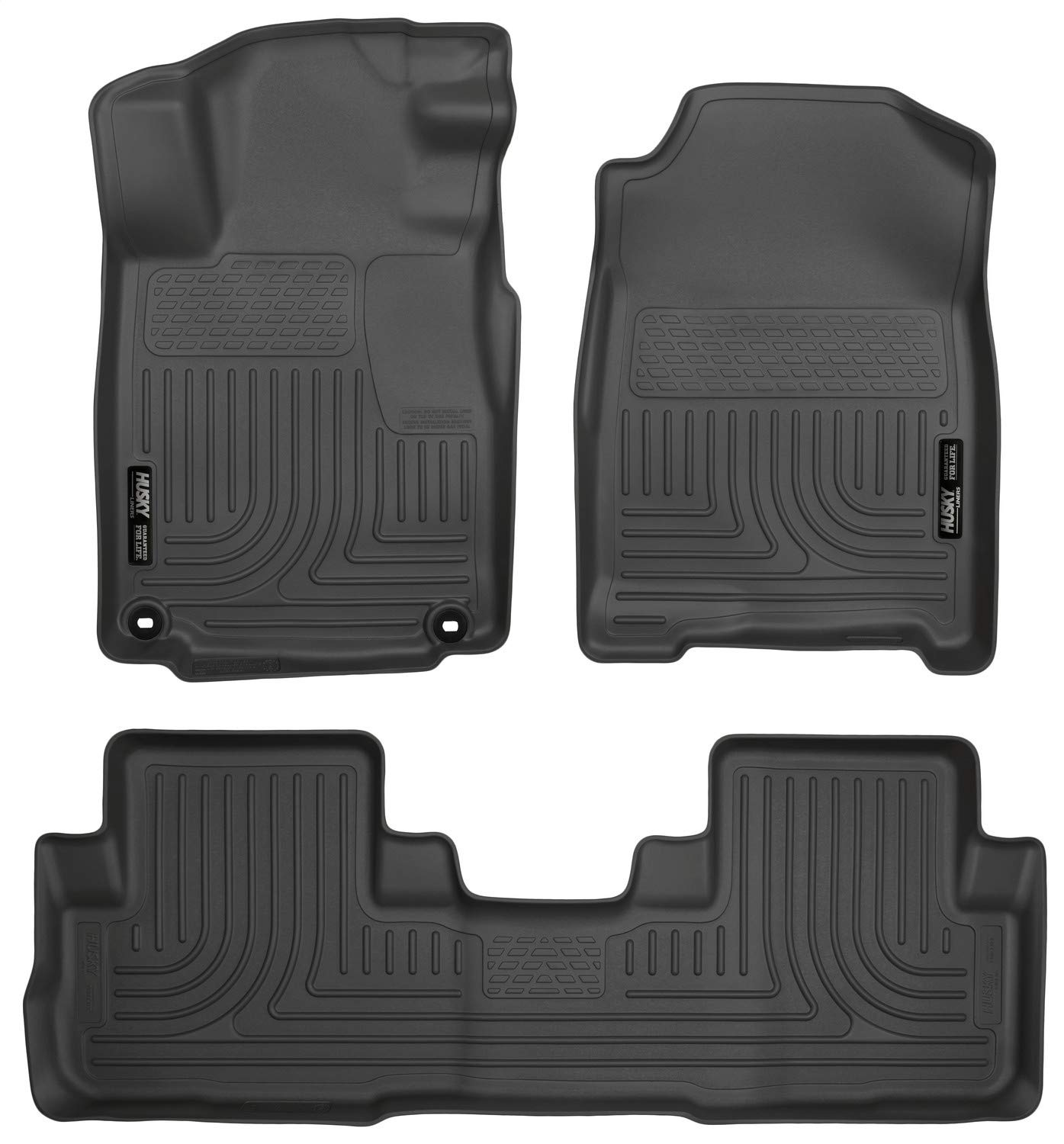 Husky Liners Fits 2016-16 Honda CR-V Weatherbeater Front & 2nd Seat Floor Mats