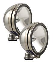 Optilux H71020801 Model 1900 12V/100W Chrome Halogen Driving Lamp Kit