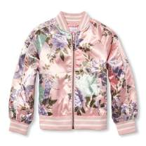 The Children's Place Big Girls' Printed Bomber Jacket