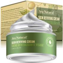 All Natural Anti Aging Moisturizer - Vegan Face Cream with Anti Wrinkle and Facial Rejuvenation Effect for Women Dry Oily or Combination Skin