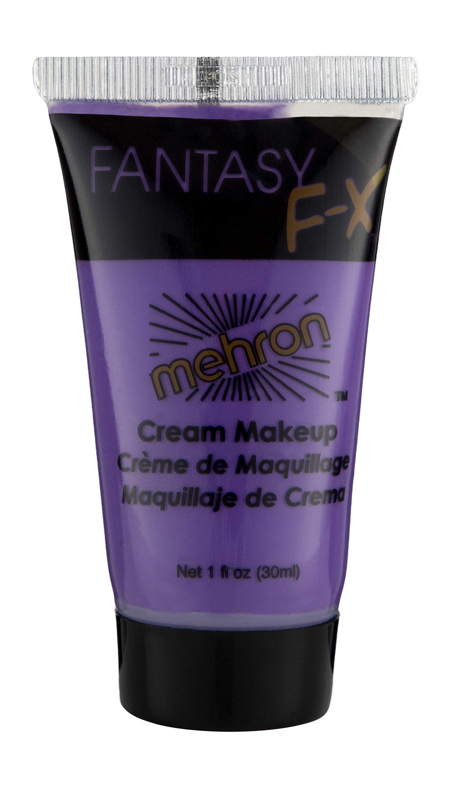 Mehron Makeup Fantasy F/X Water Based Face & Body Paint (1 oz) (PURPLE)
