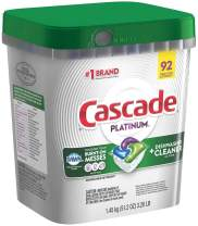 Cascade Platinum ActionPacs Dishwasher Detergent with Dawn, Fresh Scent - 92 Count, Limited edition