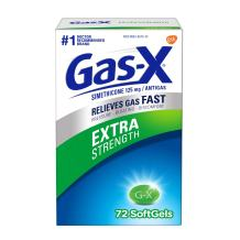 Gas-X Extra Strength Anti-Gas Softgels 72 ea (Pack of 5)