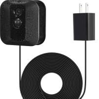 Power Adapter with 20 ft/6 m Weatherproof Cable for Blink Outdoor XT XT2/Indoor Home Security Camera, Continuously Operate Blink Security Camera, No Need to Change The Battery(1 Pack Black)
