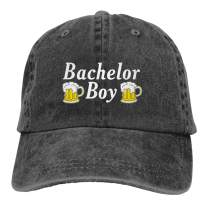 Waldeal Men's Bachelor Boy Party Groom Washed Cap Funny Wedding Humor Dad Hat