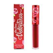 Lime Crime Velvetines Long-Lasting Liquid Matte Lipstick, Red Rose -Ruby Red - French Vanilla Scent - Long-Lasting Liquid Metal Matte Lipstick - Won't Bleed or Transfer - Vegan