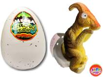 JA-RU Easter Egg Toy Magic Grow Dinosaurs Hatching Eggs Toy (1 Assorted Egg) Easter Party Toy for Boys and Girls Kids Party Favor Toy. Dino Eggs That Hatch. Bath Growing Toy. | Item #1747-1p