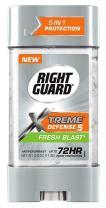 Right Guard Total Defense Anti-Perspirant Deodorant Power Gel Fresh Blast 4 oz (Pack of 4)