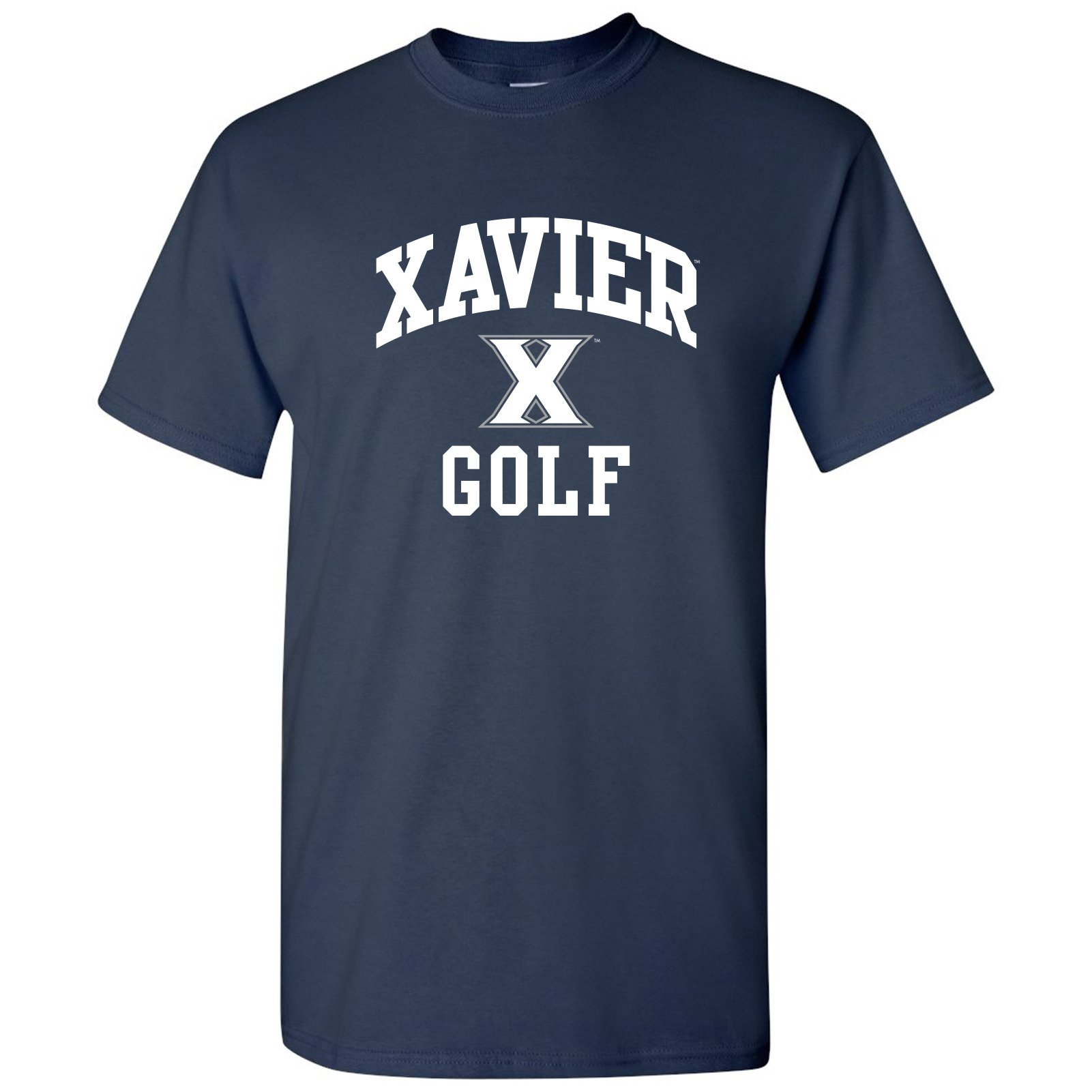 NCAA Arch Logo Golf, Team Color T Shirt, College, University