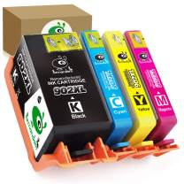 Remandom Remanufactured Ink Cartridge Replacement for HP 902 902XL use in HP OfficeJet Pro 6968 6975 6958 6963 6964 Printers (Large Black Cyan Magenta Yellow 4-Pack)