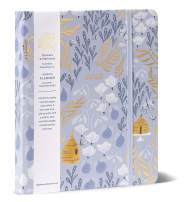 """High Note 2020 Planner - Hardcover Day Planner 18-Month - Daily Weekly Monthly Planner Yearly Agenda Organizer: July 2019 - December 2020 Garden Honeybee Floral in Gold 7"""" x 8.5"""""""