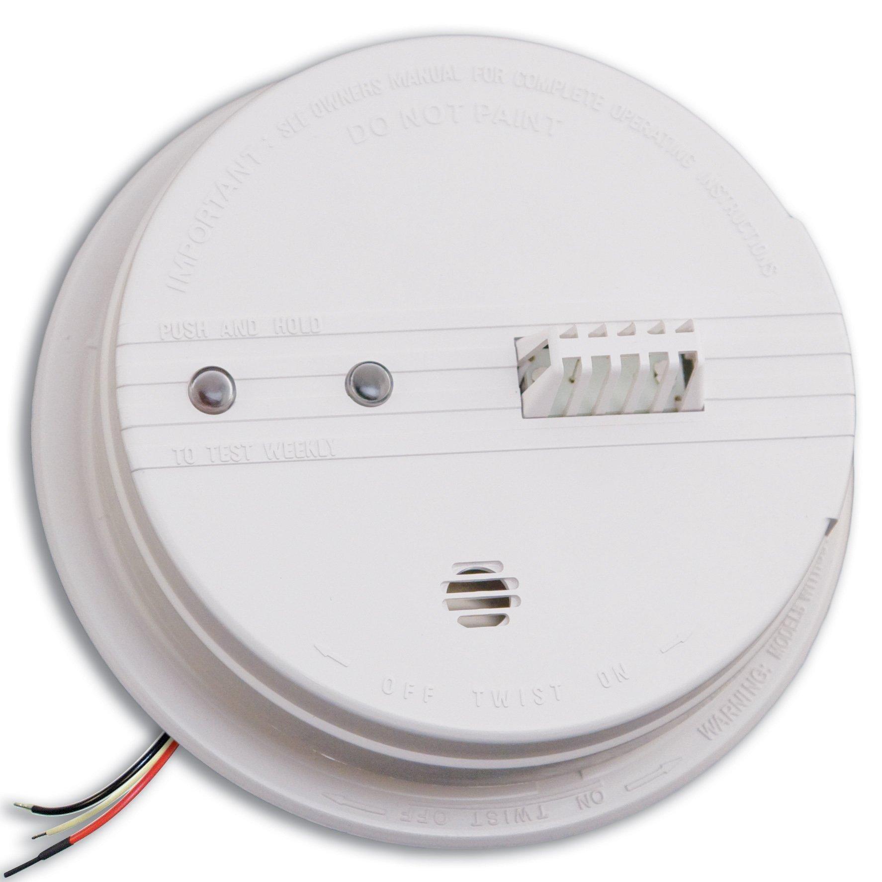 Kidde HD135F Fyrnetics Hardwire Heat Detector with Battery Backup