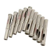 uxcell 10PCS 8mm Diamond Coated Hole Saw Drill Bits for Glass Ceramic Tile Marble Rock Porcelain