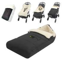 ZIIIW Baby Stroller Sleeping Bag Universal Bunting Bag Moistureproof Warm Footmuff Anti-Slip Baby Swaddle Wrap for 6-36M