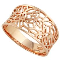 CloseoutWarehouse Sterling Silver Victorian Leaf Filigree Vintage Ring (Color Options, Sizes 3-15)