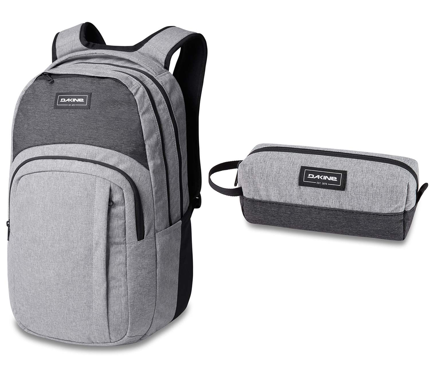 Dakine Campus L 33L Backpack with Matching Accessorry Case | Fits Laptop/Tablet