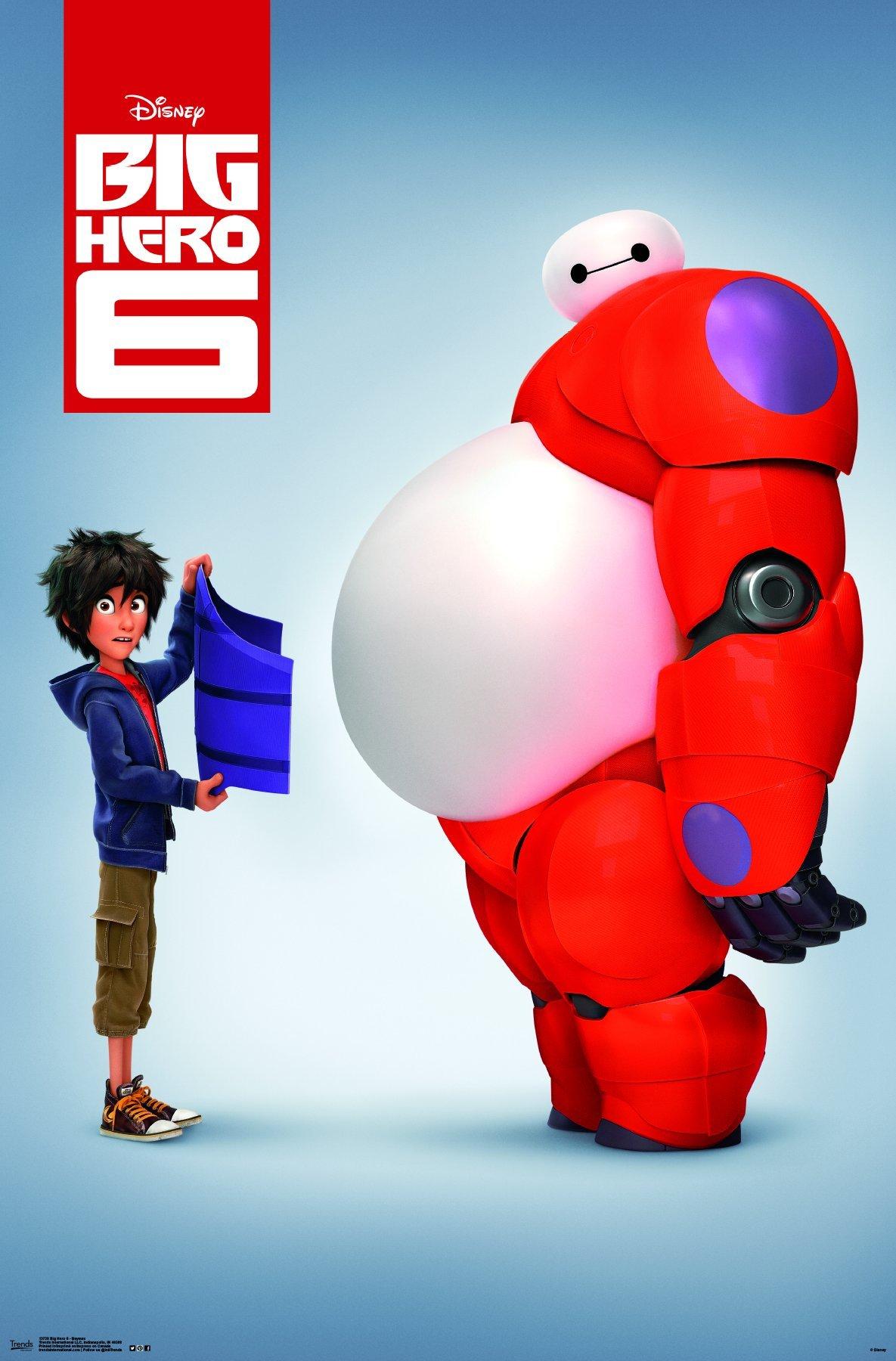 "Trends International  Big Hero 6 Baymax Wall Poster 22.375"" x 34"""