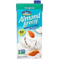 Almond Breeze Dairy Free Almond Coconut Blend, Original, 32 FL OZ (Pack of 12)