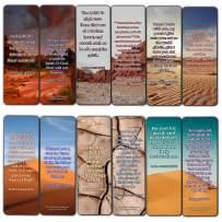 KJV Uplifting Healing Scriptures for The Brokenhearted Bookmarks (12-Pack)