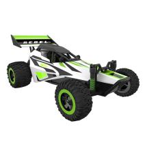 Force1 Fast Remote Control Car - Rebel 1/32 Scale RC Buggy with Ramp and Cones for All Terrain RC Cars Rechargeable Stunt RC Cars for Kids and Adults