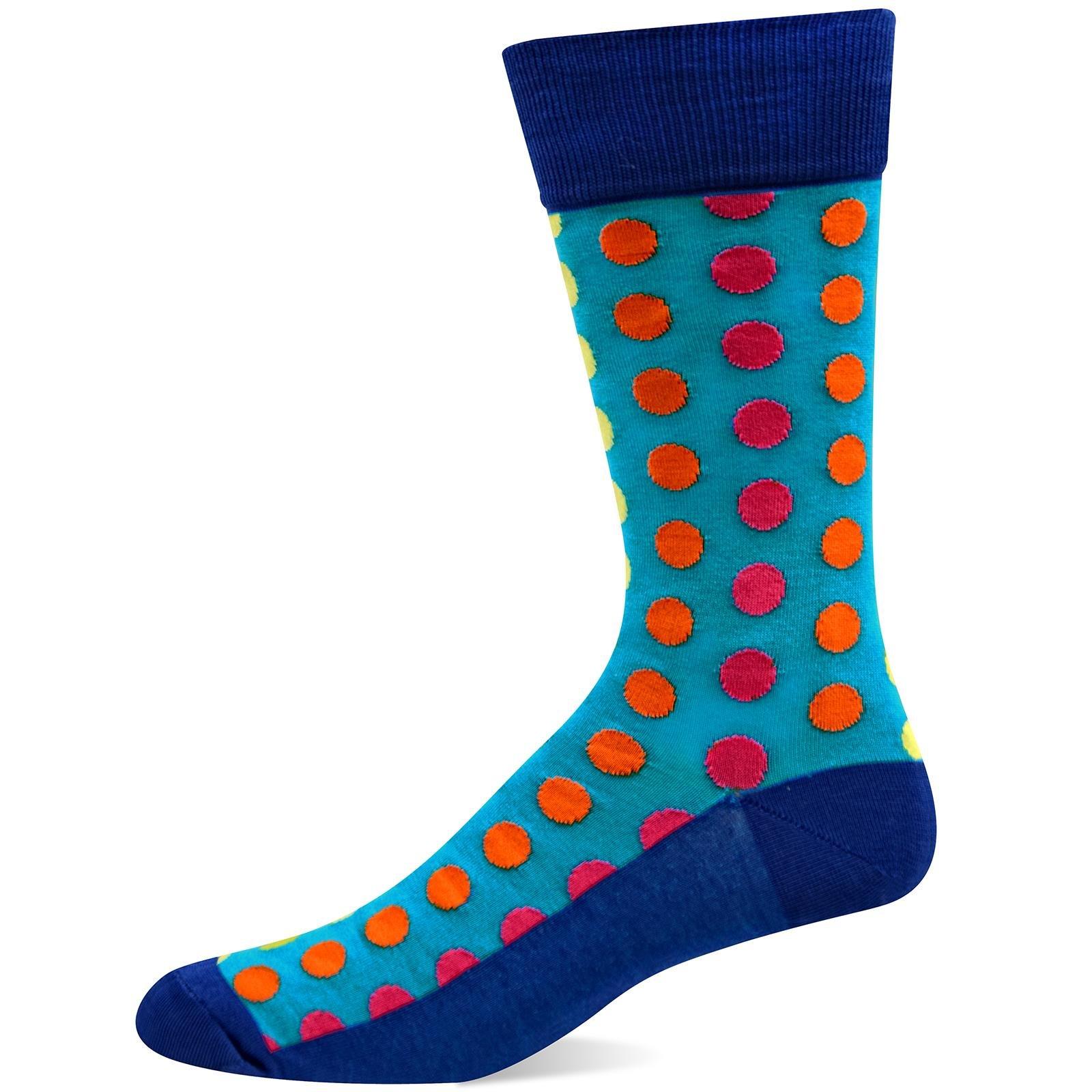 Hot Sox Men's Classic Fashion Crew Socks
