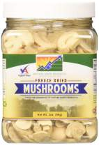Mother Earth Products Freeze Dried Mushrooms, 2 oz Jar