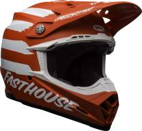 Bell Moto-9 MIPS Off-Road Motorcycle Helmet (Fasthouse Signia Matte Red/White, X-Large)