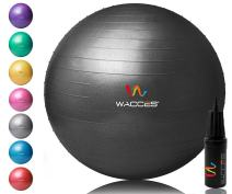 Wacces Yoga Ball with Hand Pump