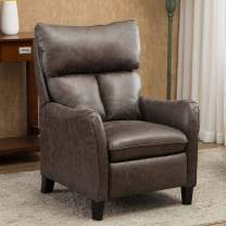 CANMOV Recliner Chair,Single Modern Sofa, Home Theater Seating for Living Room, Gray