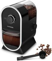 SHARDOR Electric Burr Coffee Grinder Mill 2.0 with 16 Adjustable Grinding, Coffee Grinders with 2-12 Cups, Black