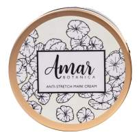 Pregnancy Stretch Marks Prevention and Removal Cream | OBGYN Recommended Amar Botanica | 100% Safe for Unborn Baby and Mommy | Vegan, Paraben-Free, Organic Formulation 8oz