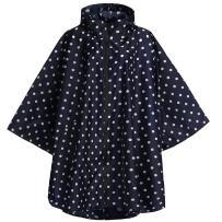 Fancyqube Women's Waterproof Rain Coat Lightweight Zipper Outdoor Hooded Rain Jacket