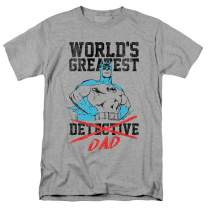 Popfunk Batman World's Greatest Dad T Shirt for Father's Day & Stickers