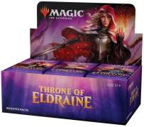 Magic: The Gathering Throne of Eldraine Booster Box   36 Booster Pack (540 Cards)   Factory Sealed