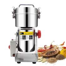 CGOLDENWALL 400g Stainless Steel Electric Grain Mill Grinder Pulverizer Machine For Spice Cereal Herb