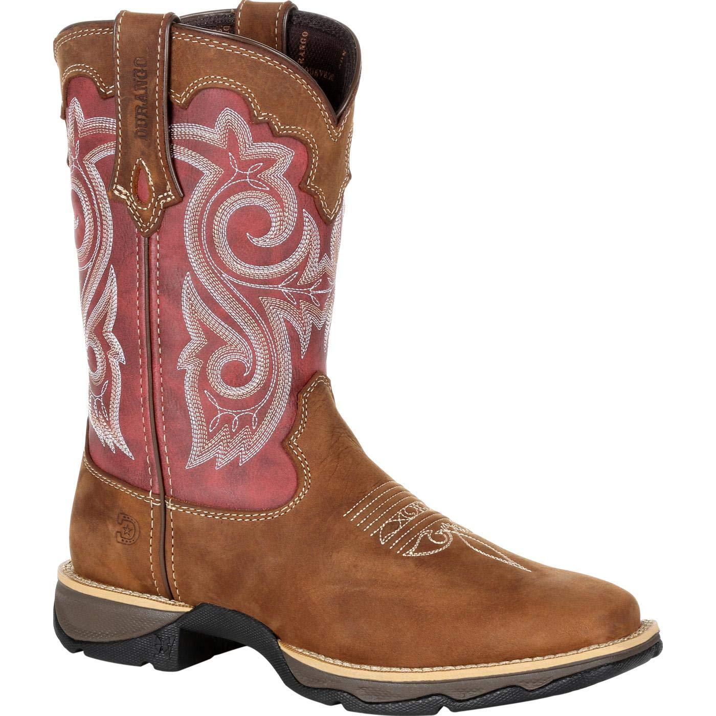 Durango Lady Rebel Women's Red Western Boot