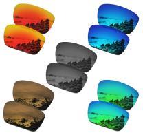 SmartVLT Set of 5 Men's Replacement Lenses for Oakley Fuel Cell Sunglass Combo Pack S02
