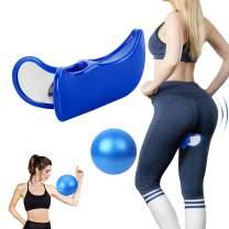 GLHMOGM Kegel Exerciser Super Pelvic Floor Muscle and Inner Thigh Trainer Correction Beautiful Buttocks Bladder Control Device Postpartum Rehabilitation for Women